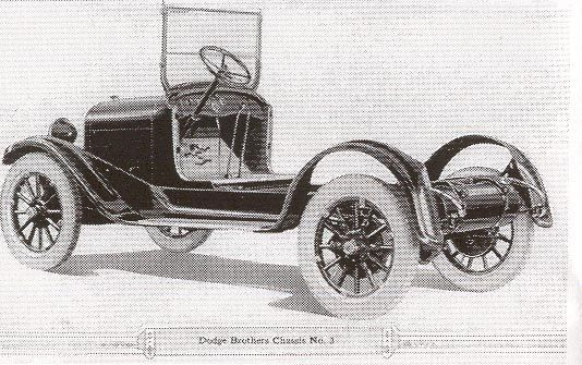 Dodge Brothers Chassis No.3