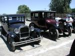T S Barham 26 and T  E Gongs 19 4-door sedans