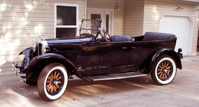 Dodge Brothers Canada 1927 Model 126 Touring